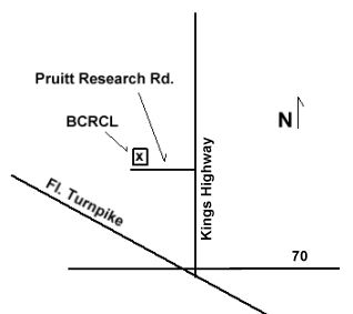 Map to BCRCL